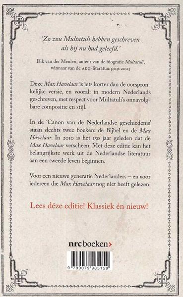 Citaten Uit Max Havelaar : Max havelaar hertaling mul lezerslounge